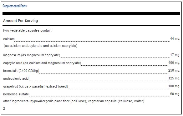 undecylenic acid capsules