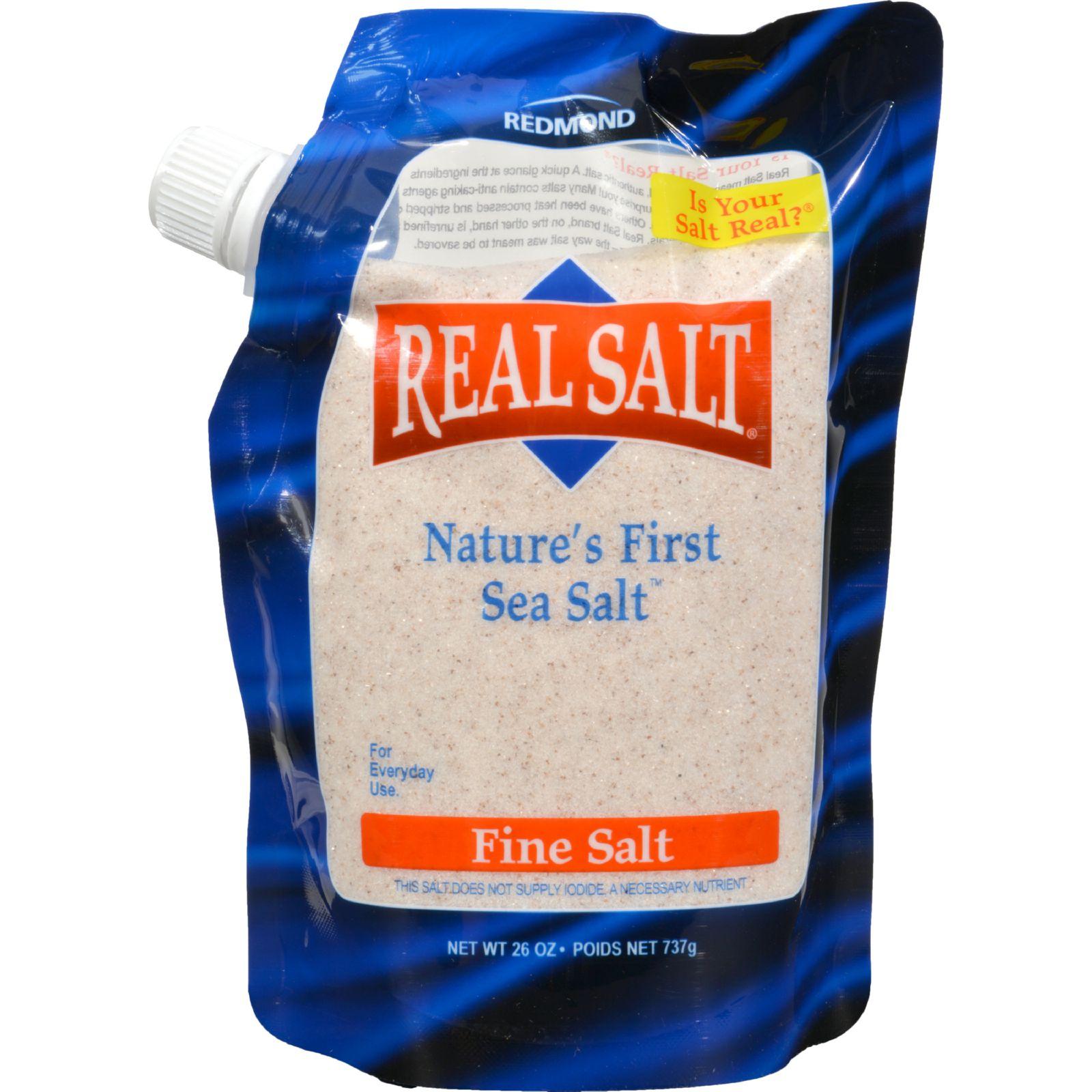 Real Salt Sea Salt - Pouch, 26 Ounce