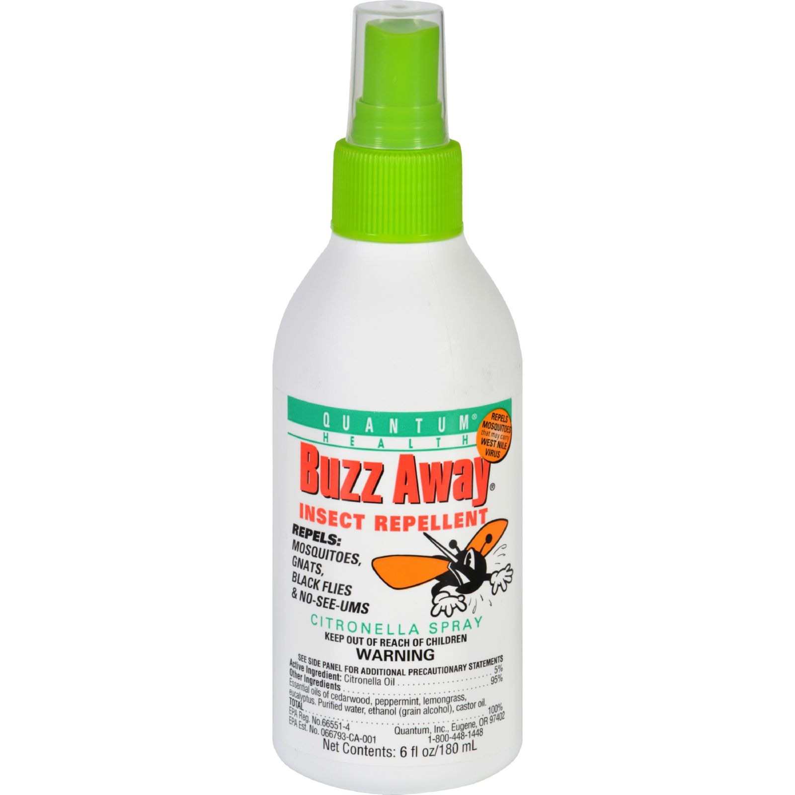 Quantum Research International Buzz Away Insect Repellent...