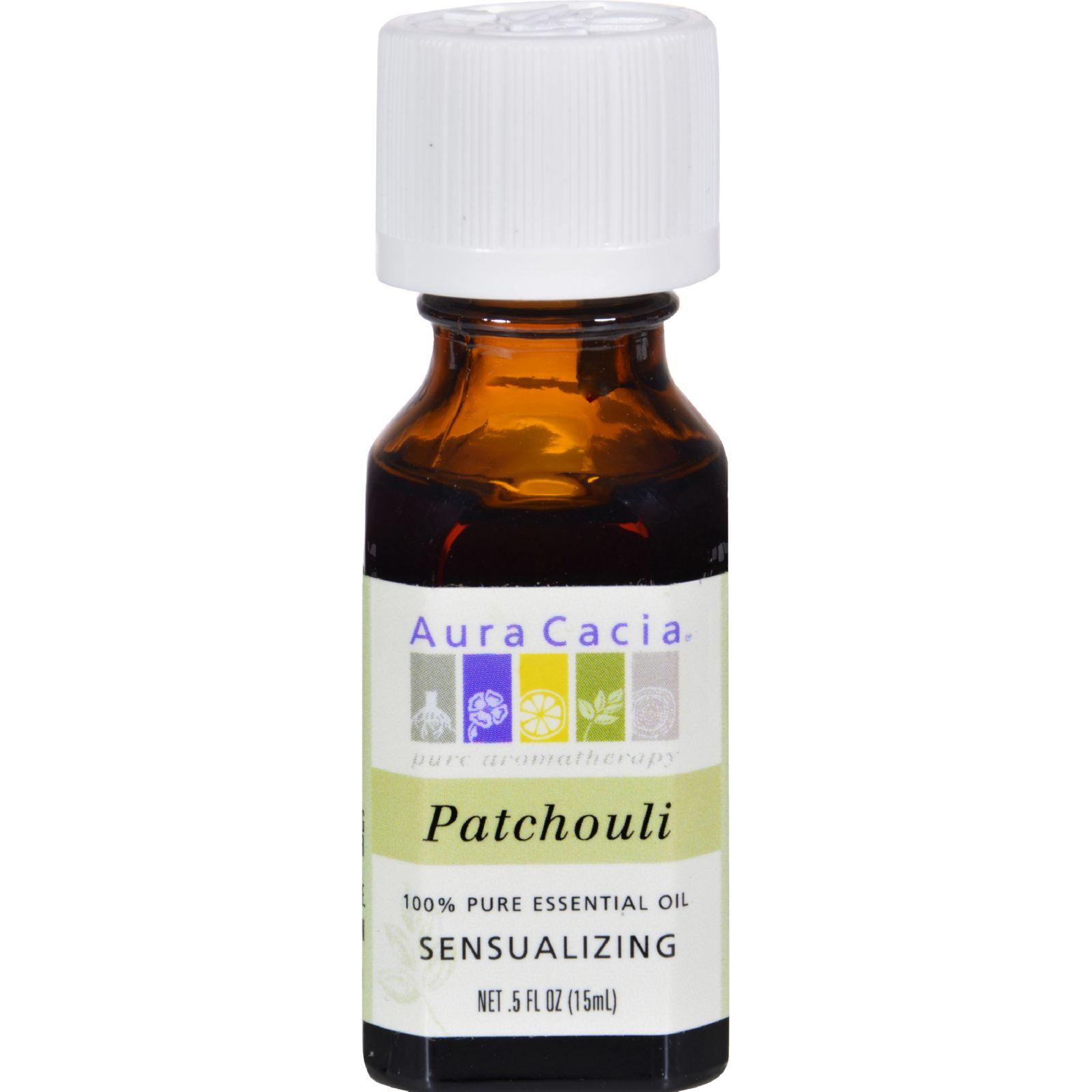 Aura Cacia Essential Oil Patchouli .5 oz Oil