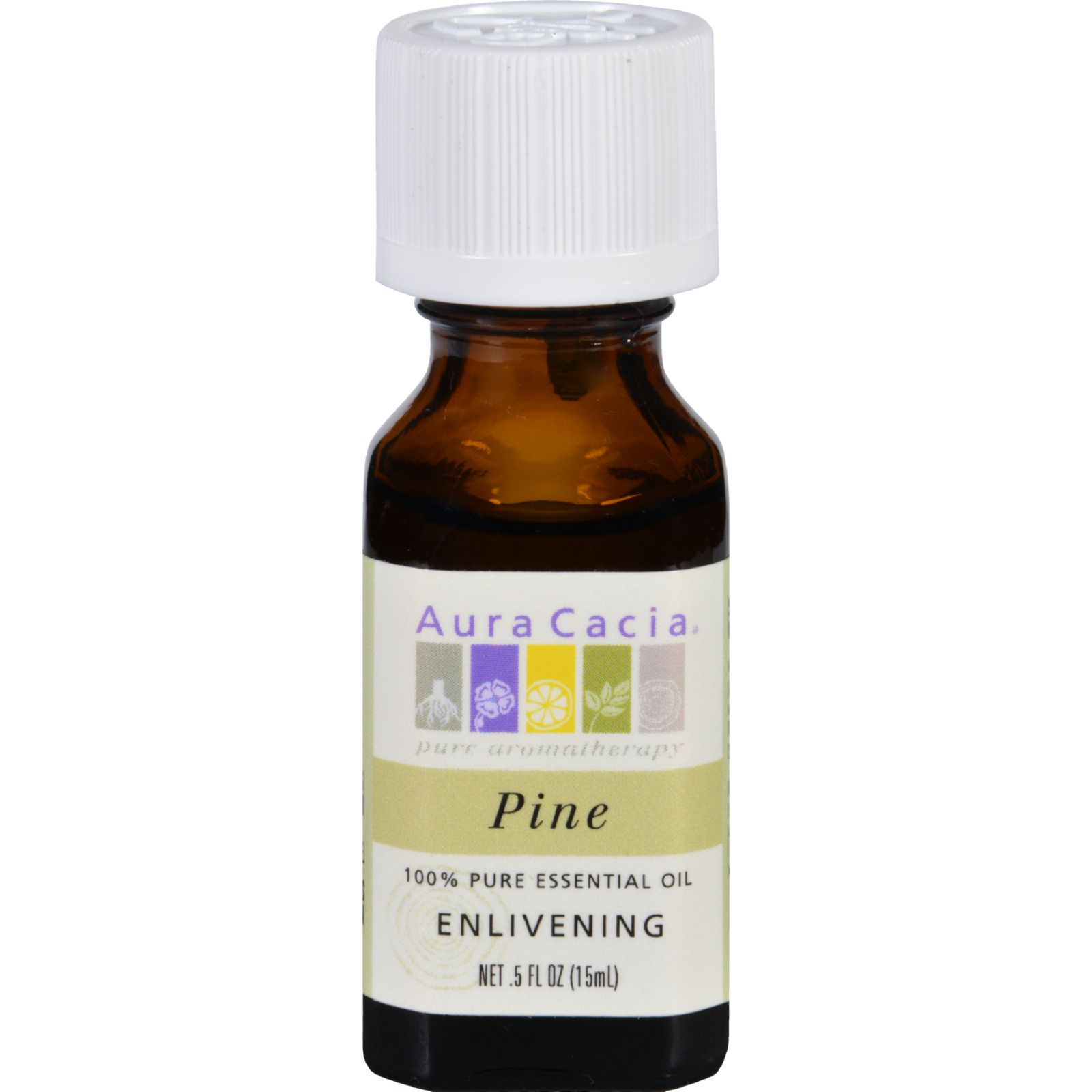 Aura Cacia Essential Oil Pine .5 oz Oil
