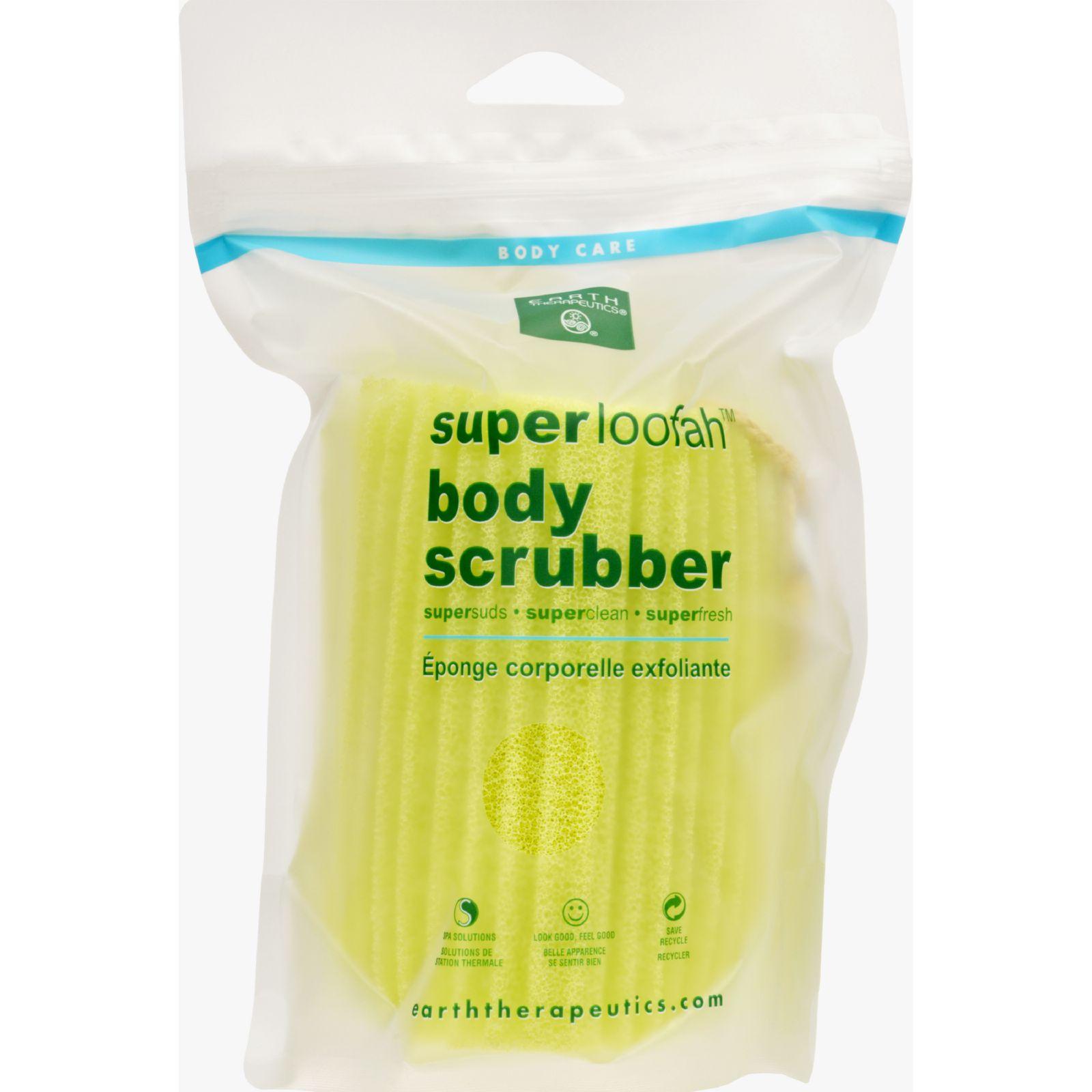 Earth Therapeutics Loofah - Super - Body Scrubber - Green...