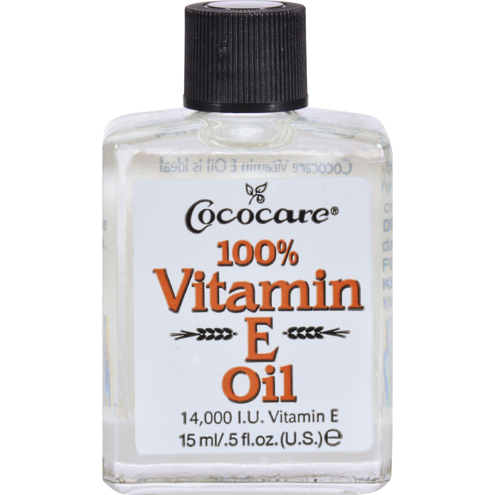 Cococare Vitamin E Oil - 14000 IU - 0.5 fl oz