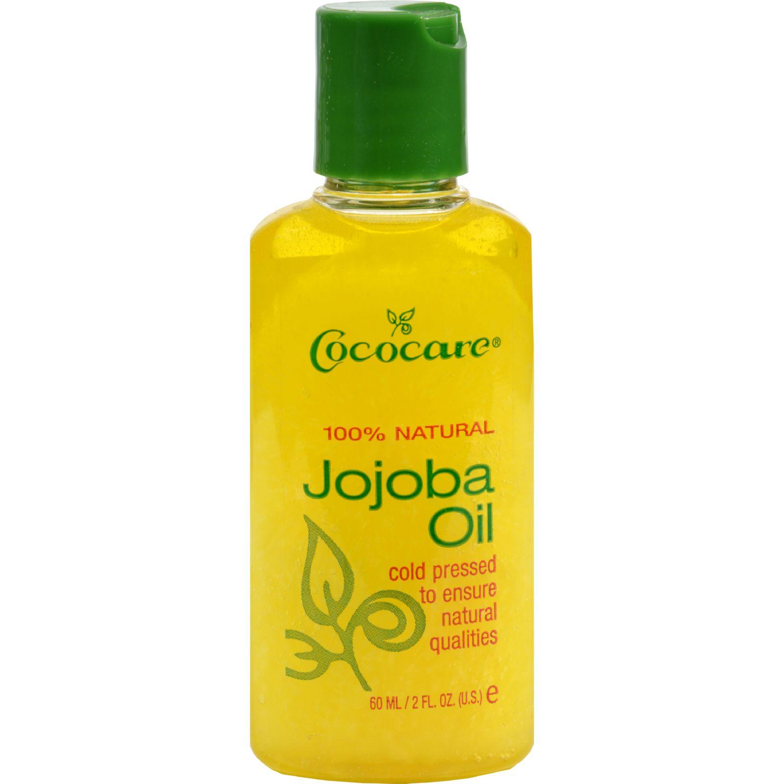Cococare Natural Jojoba Oil -- 2 fl oz