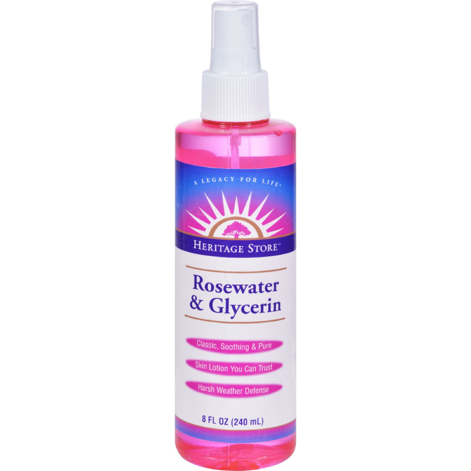Rosewater and Glycerin - 8 fl oz