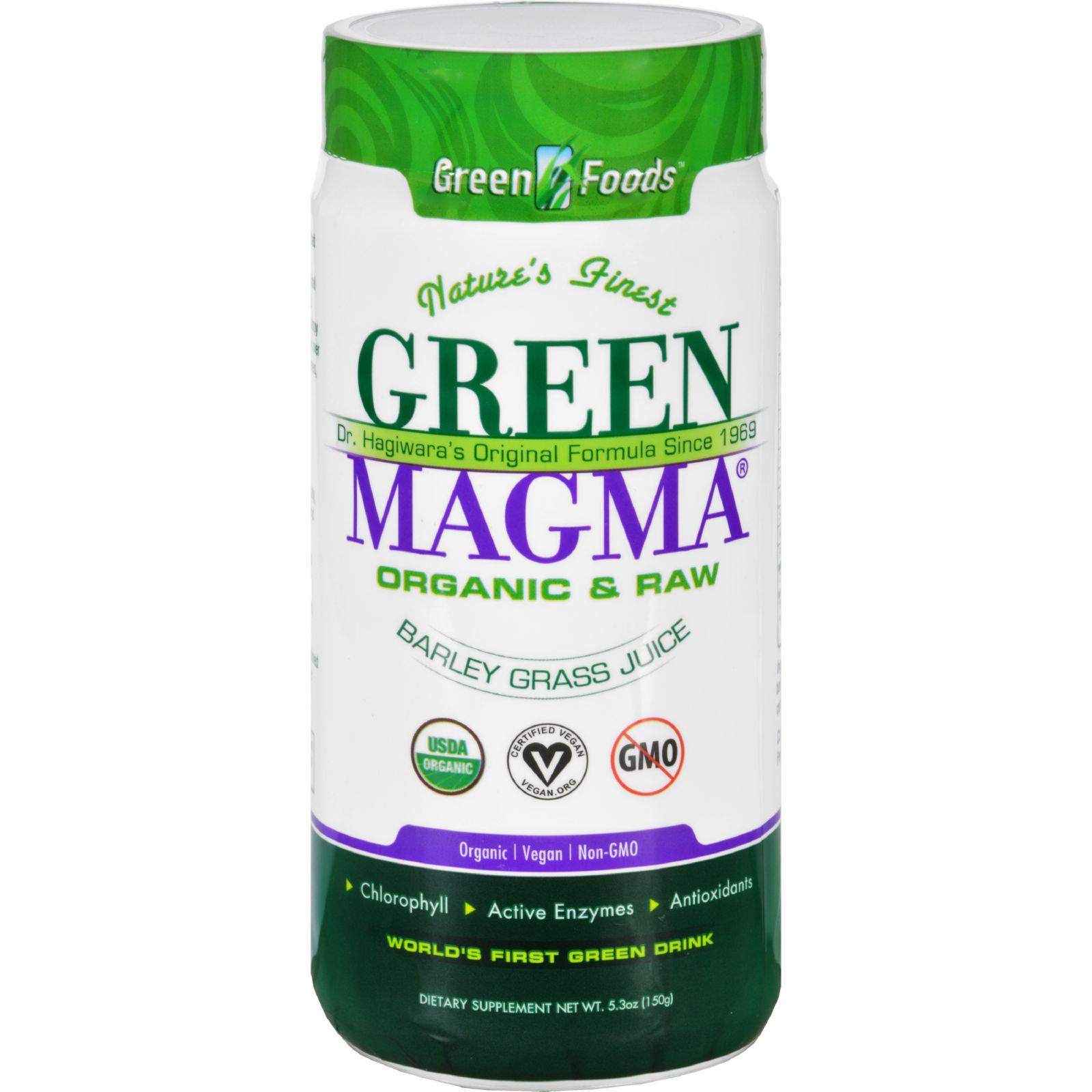 Green Foods Dr Hagiwara Green Magma Barley Grass Juice Po...