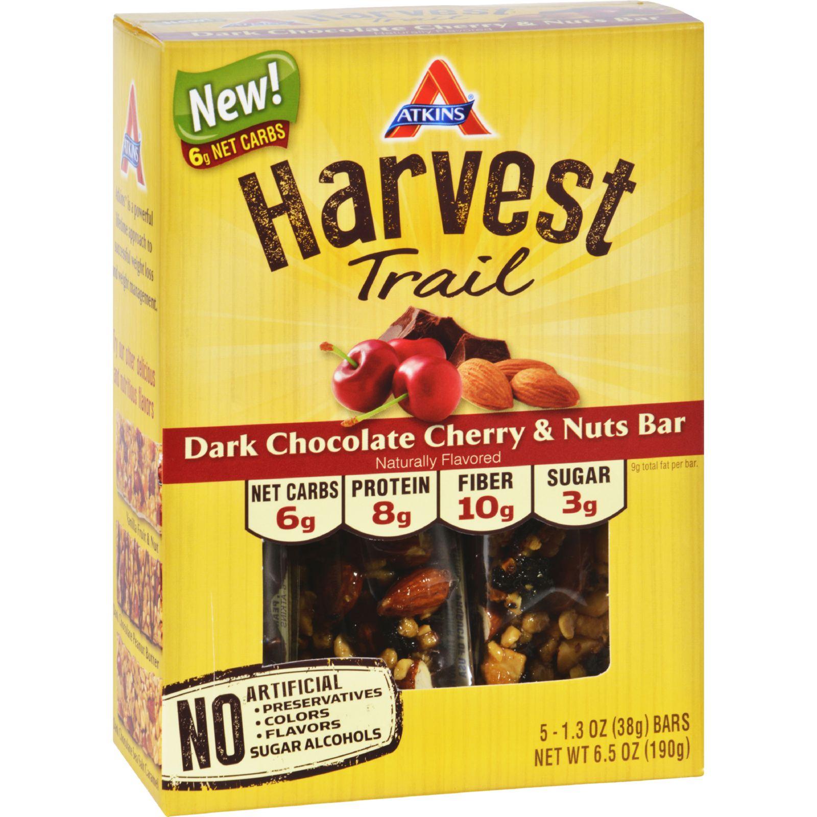 ATKINS Harvest Trail Bar - Dark Chocolate Cherry and Nuts...