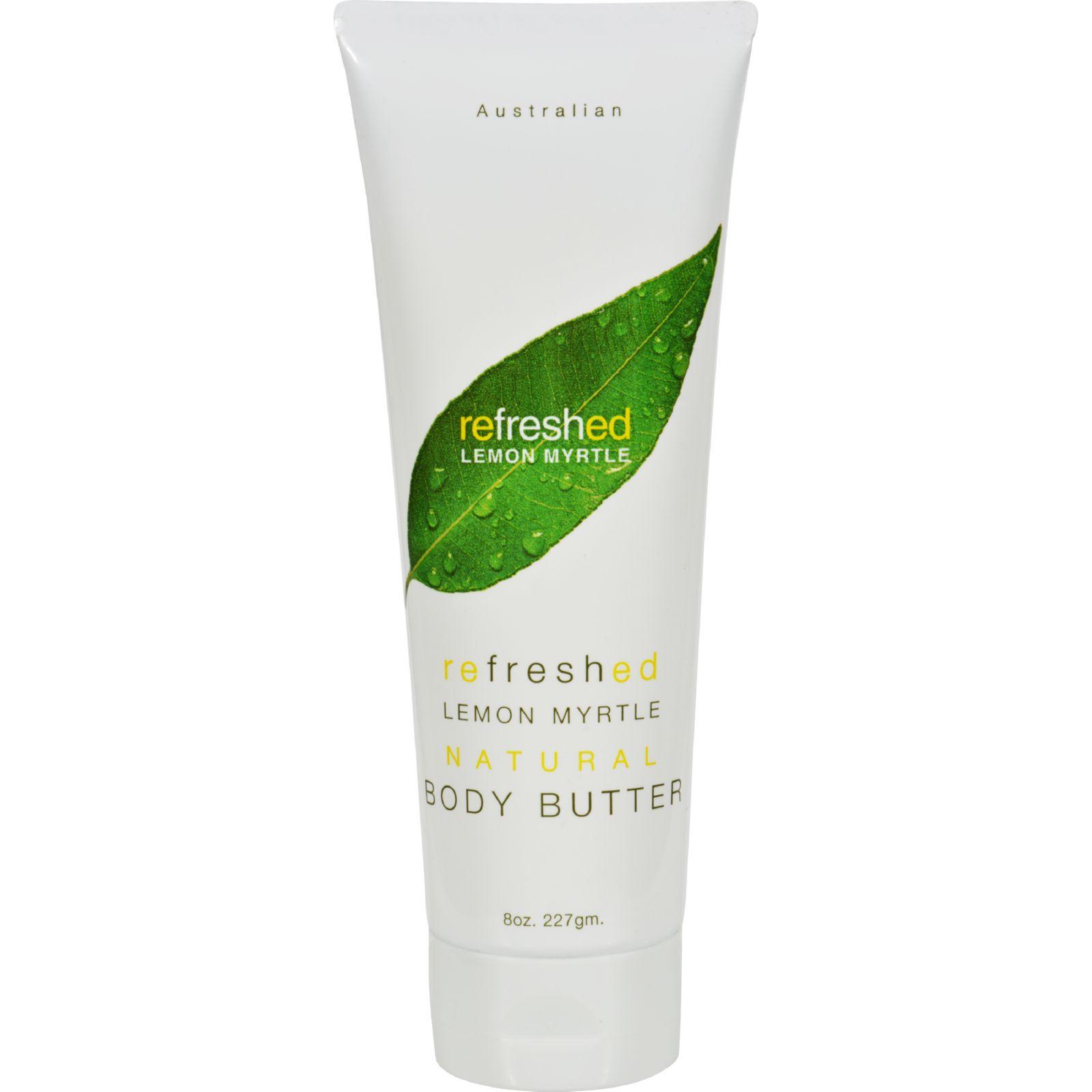 Tea Tree Lemon Myrtle Body Butter - 8 oz
