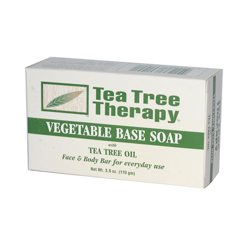 Vegetable Base Soap with Tea Tree Oil - 3.9 oz