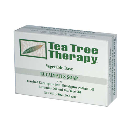 Tea Tree Eucalyptus Soap Vegetable Base - 3.5 oz