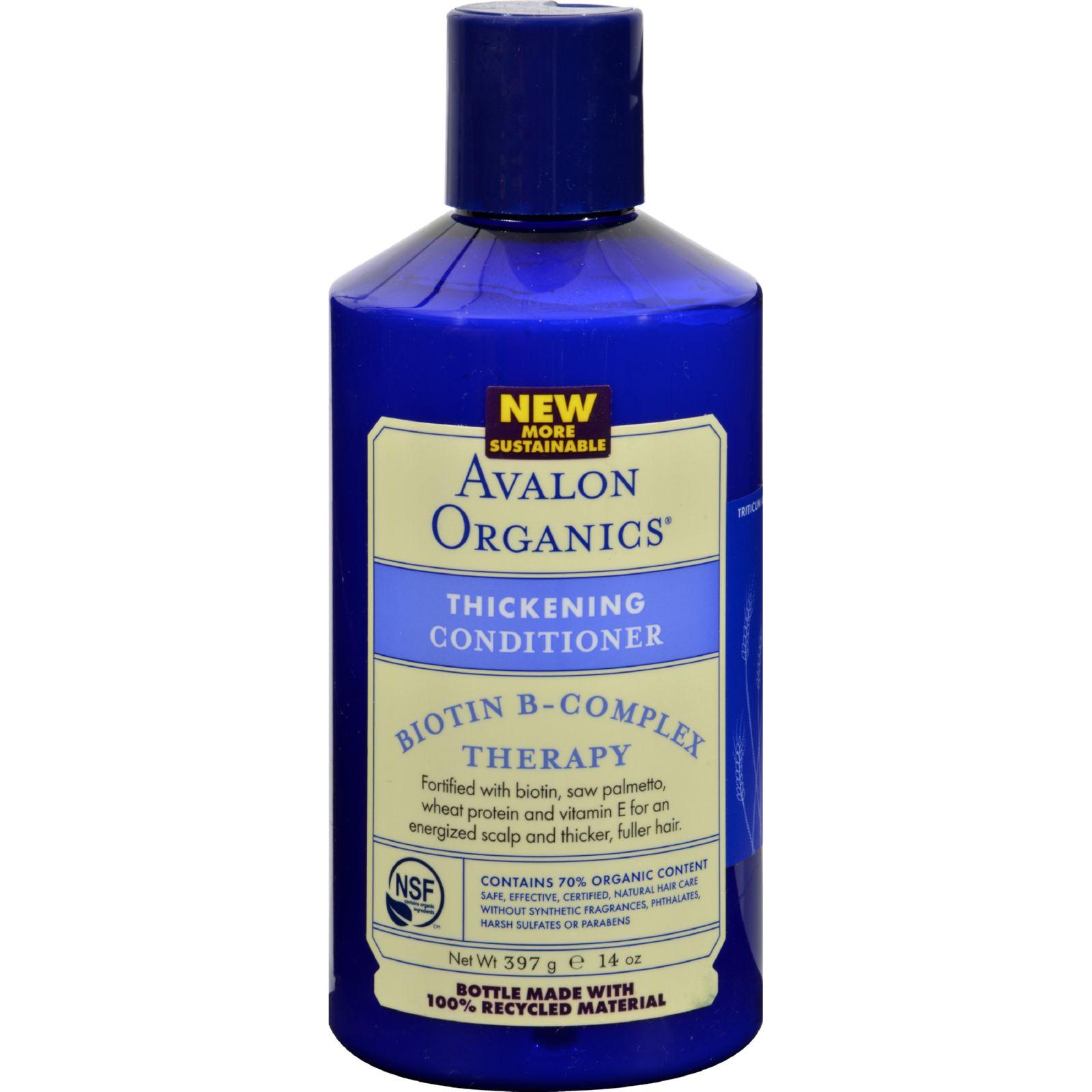 Avalon Organic Organics Thickening Conditioner Biotin B-C...