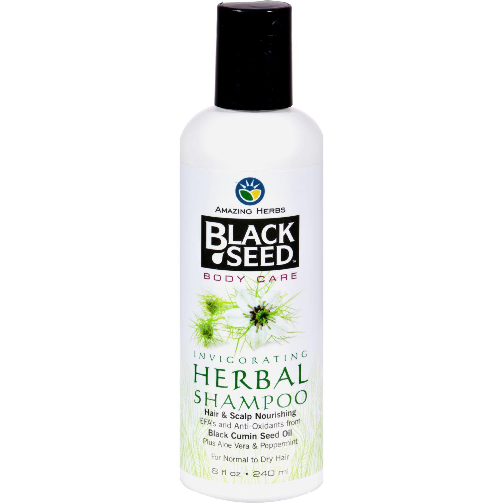 Black Seed Shampoo - Herbal - 8 oz