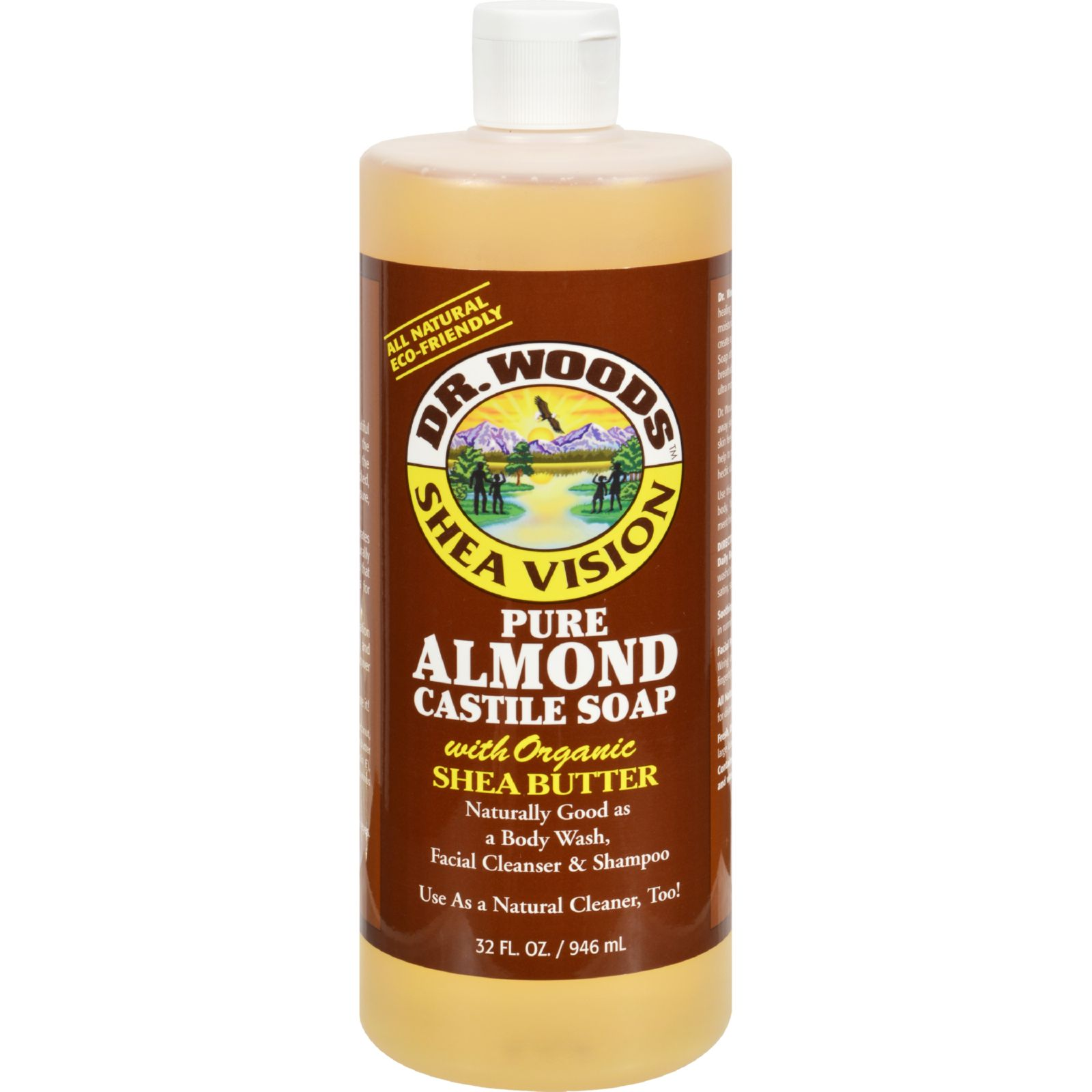 Dr. Woods Shea Vision Pure Castile Soap with Organic Shea...