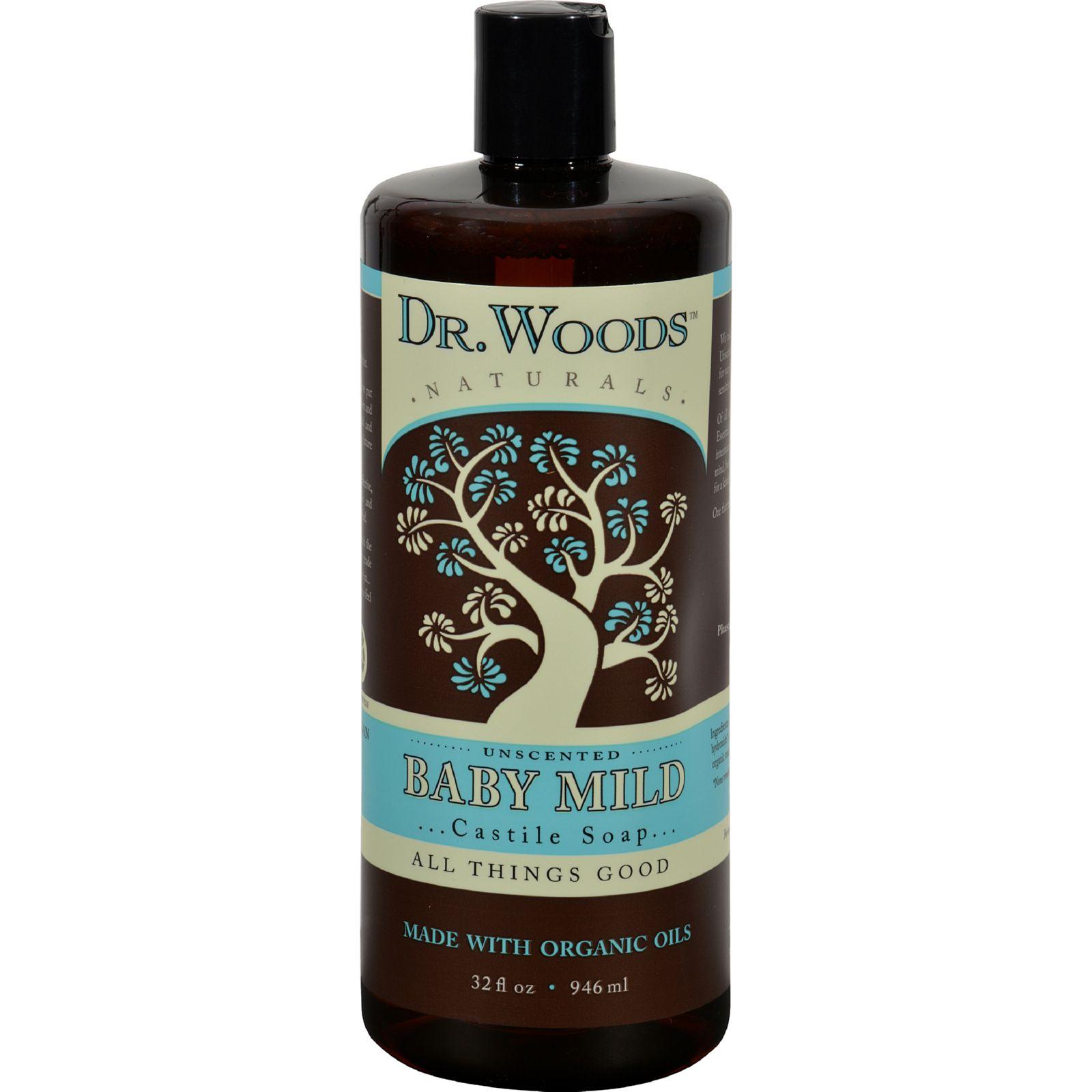 Dr. Woods Naturals Castile Liquid Soap - Baby - 32 fl oz