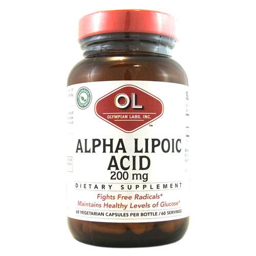 Olympian Labs Alpha Lipoic Coenzyme Q10 - 200 mg - 60 Veg...