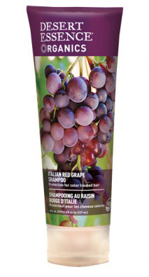Desert Essence Italian Red Grape Shampoo 8 oz Liquid