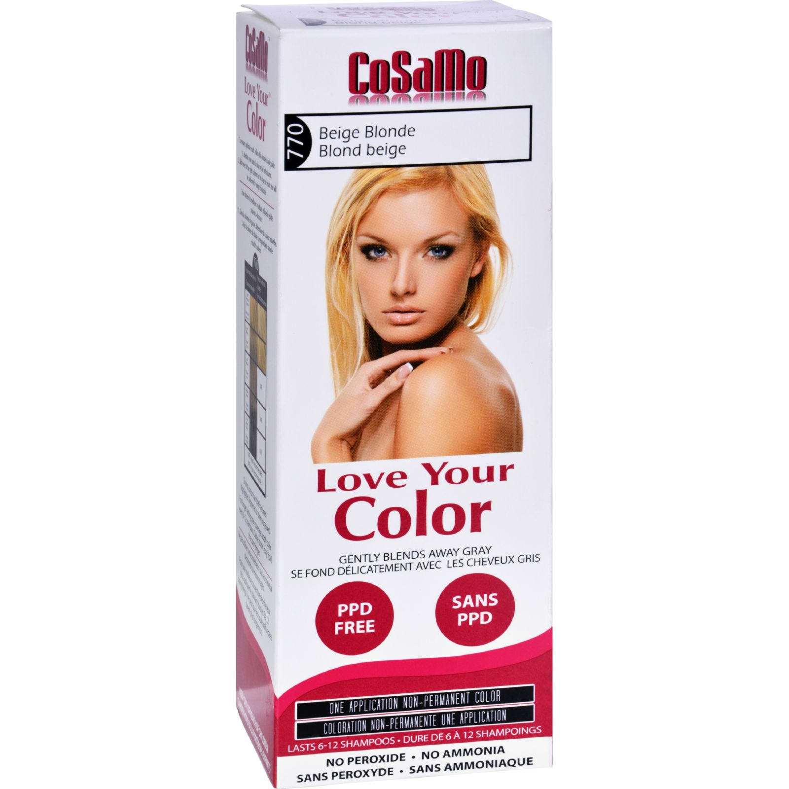 Hair Color - CoSaMo - Non Permanent - Beige Blonde - 1 ct