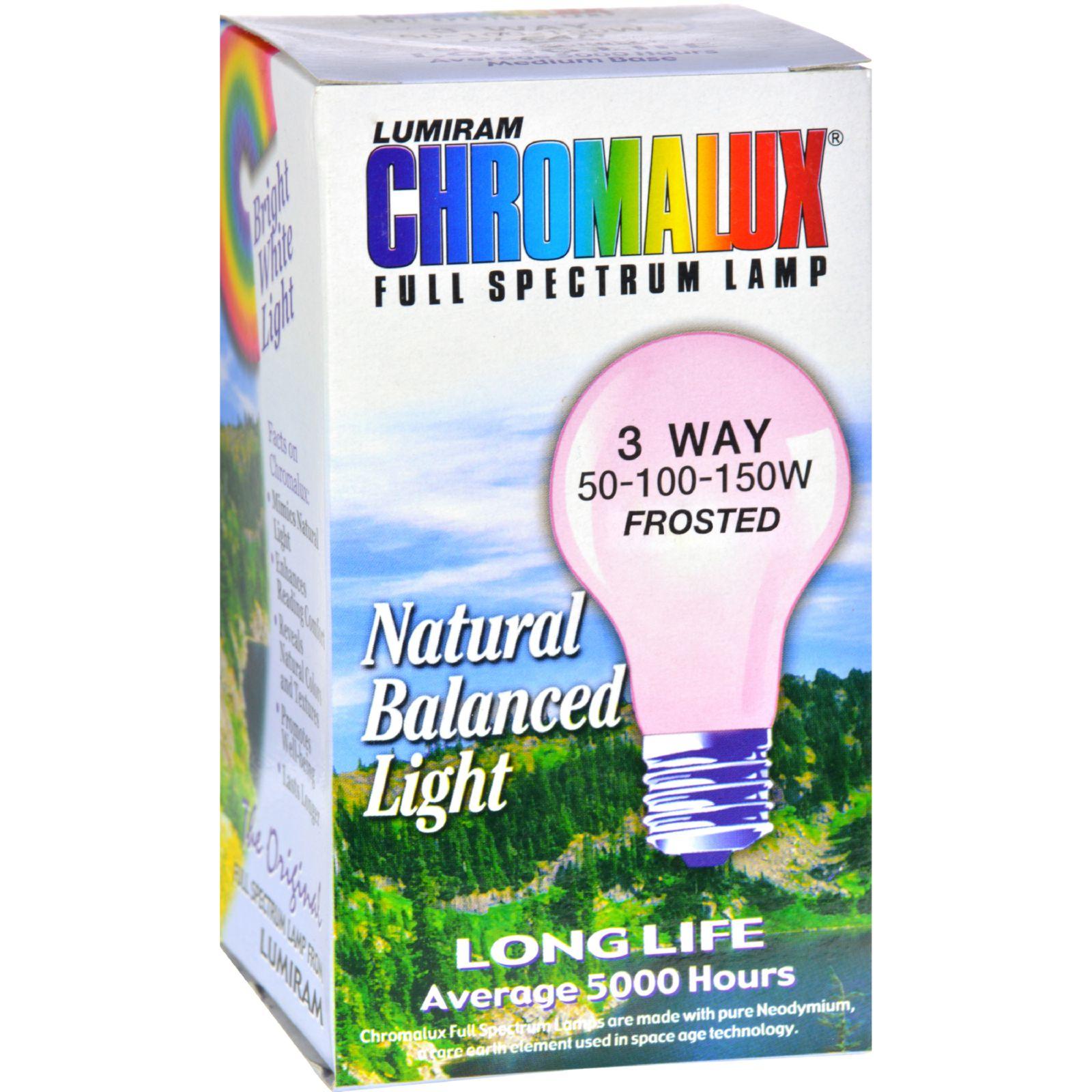 Chromalux Lumiram Full Spectrum 3 Way 50/100/150 watts - ...