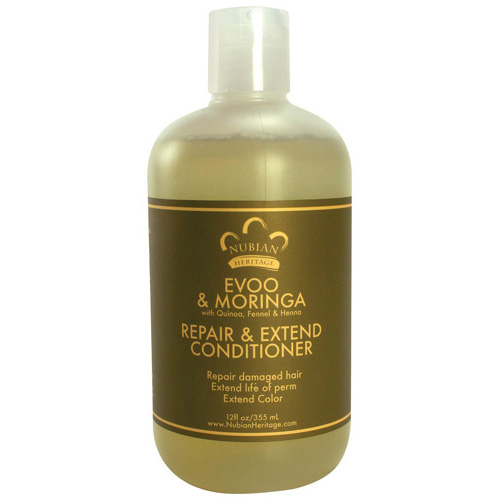 Nubian Heritage Conditioner - EVOO and Moringa - Repair a...