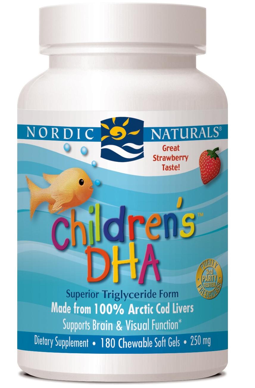 Nordic Naturals Children's DHA 180 Chewable Softgels 250 ...