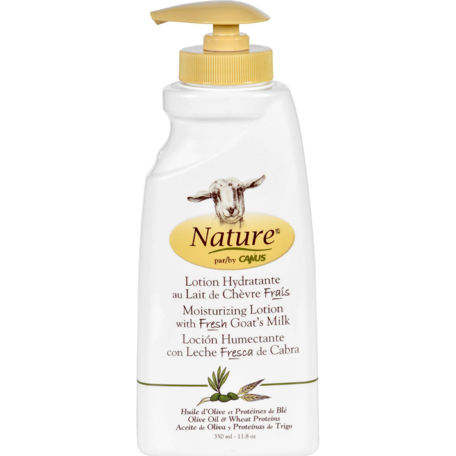 Lotion - Goats Milk - Nature - Olive Oil Wht Prot - 11.8 oz