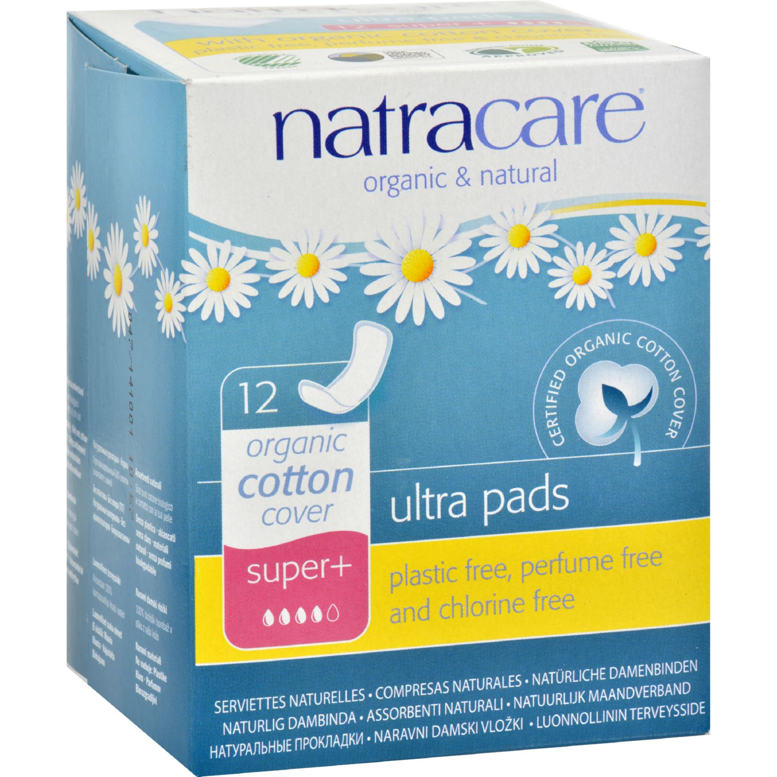 Natracare Natural Ultra Pads Super Plus w/organic cotton ...