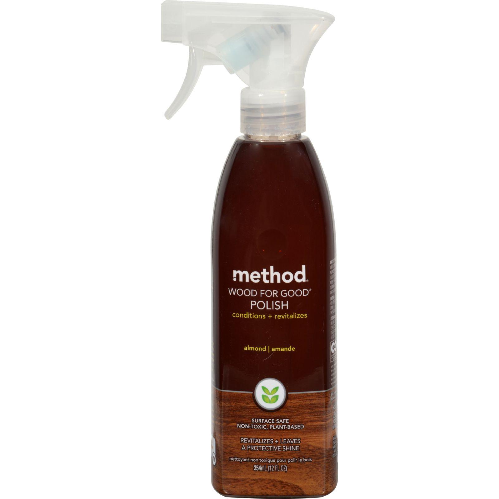 Method Wood For Good Spray - Almond - 12 oz