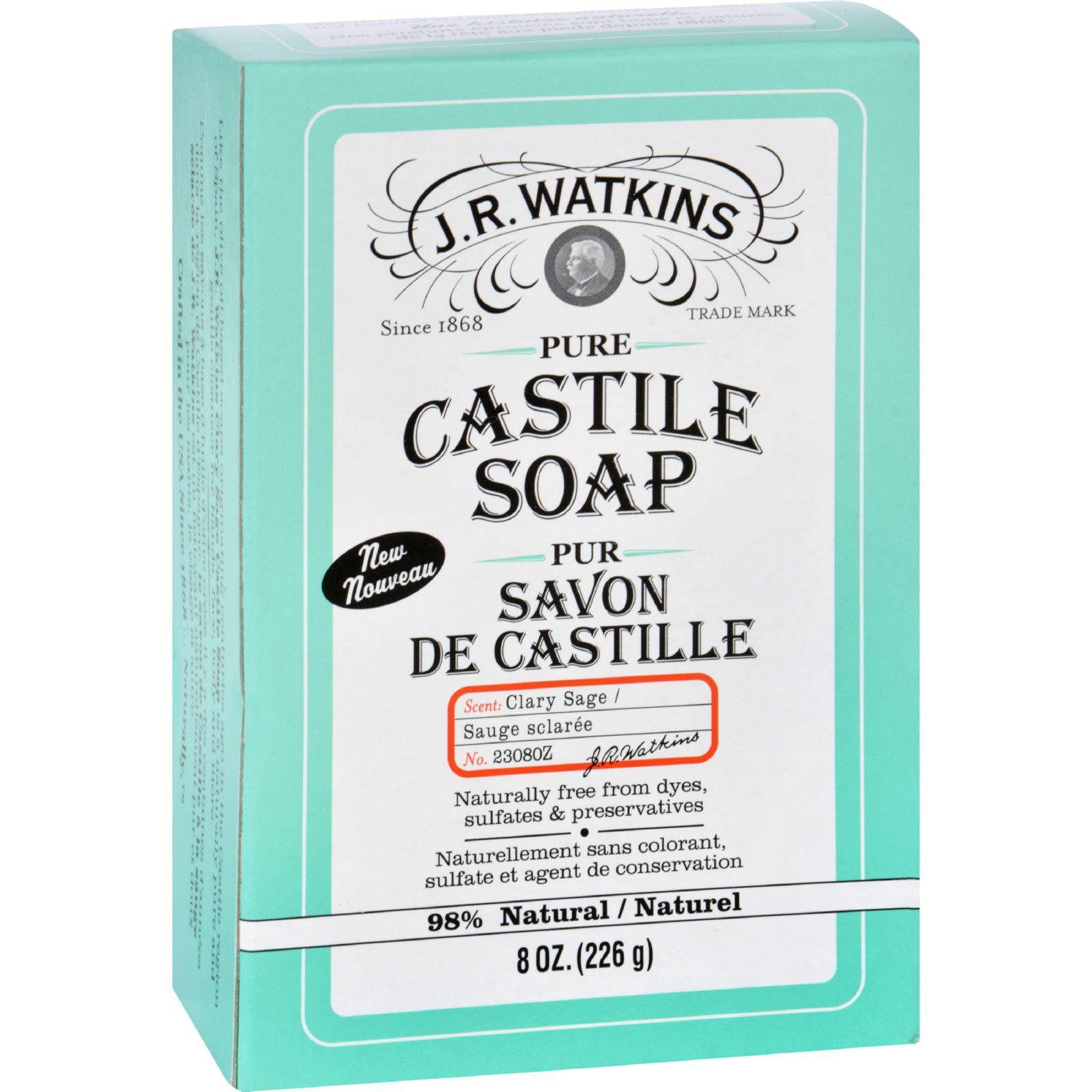 Bar Soap - Castile - Clary Sage - 8 oz