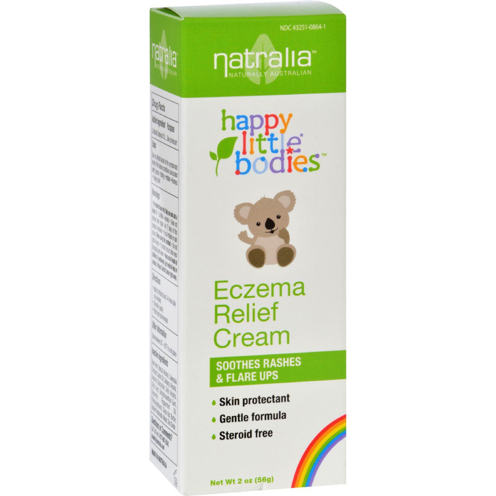 Happy Little Bodies Eczema Relief Cream - Natralia - 2 oz