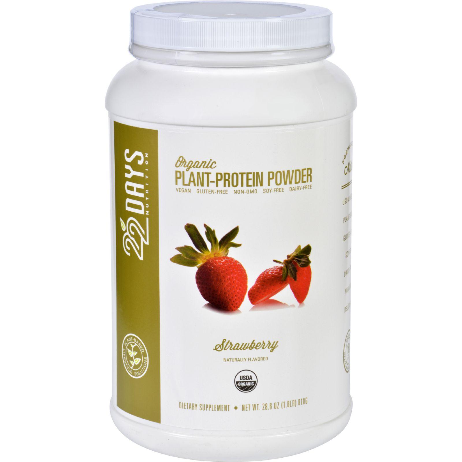 Organic Plant Protein Powder  28.6 Oz  (1.8 lb)  810 G Po...