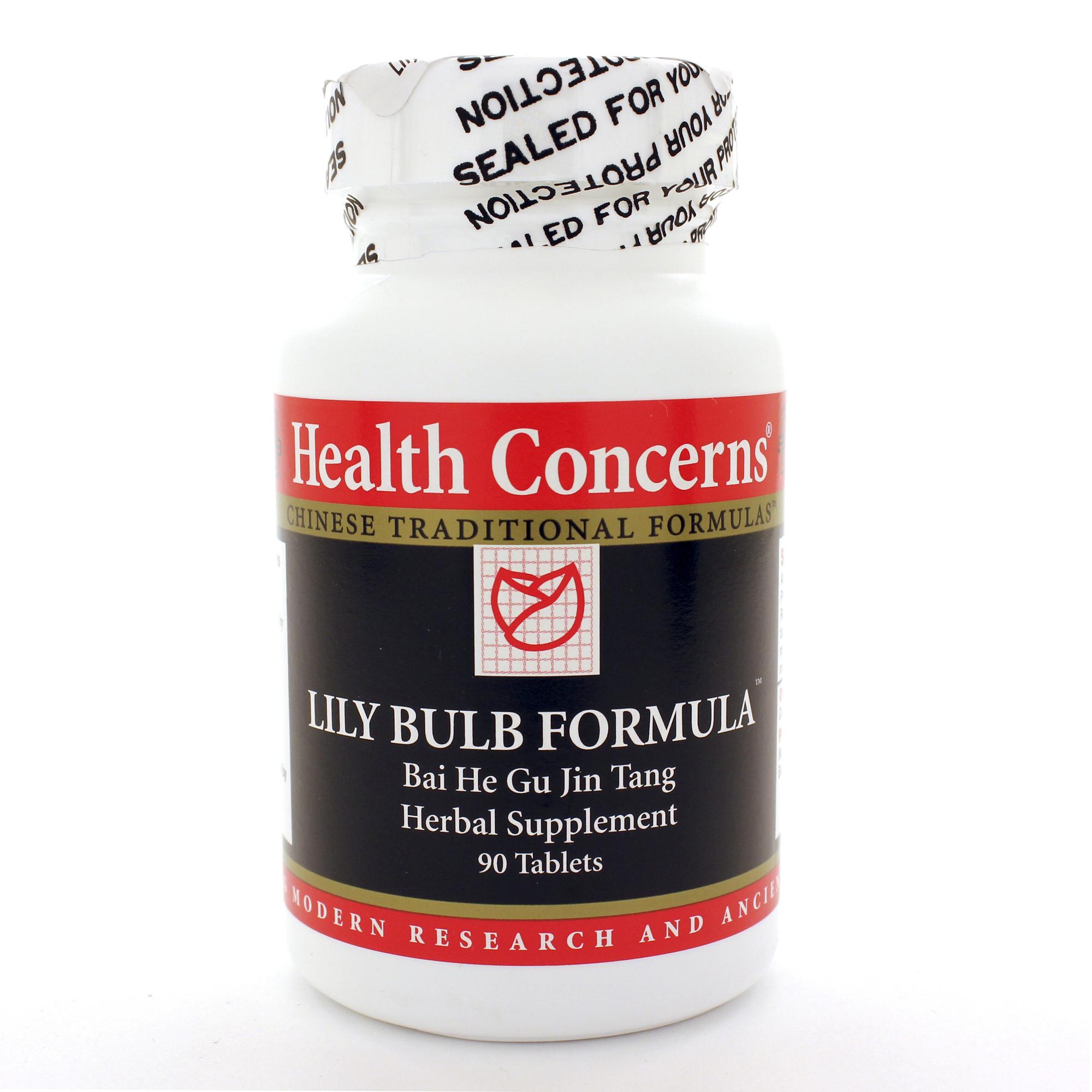 Health Concerns Lily Bulb Formula 90t