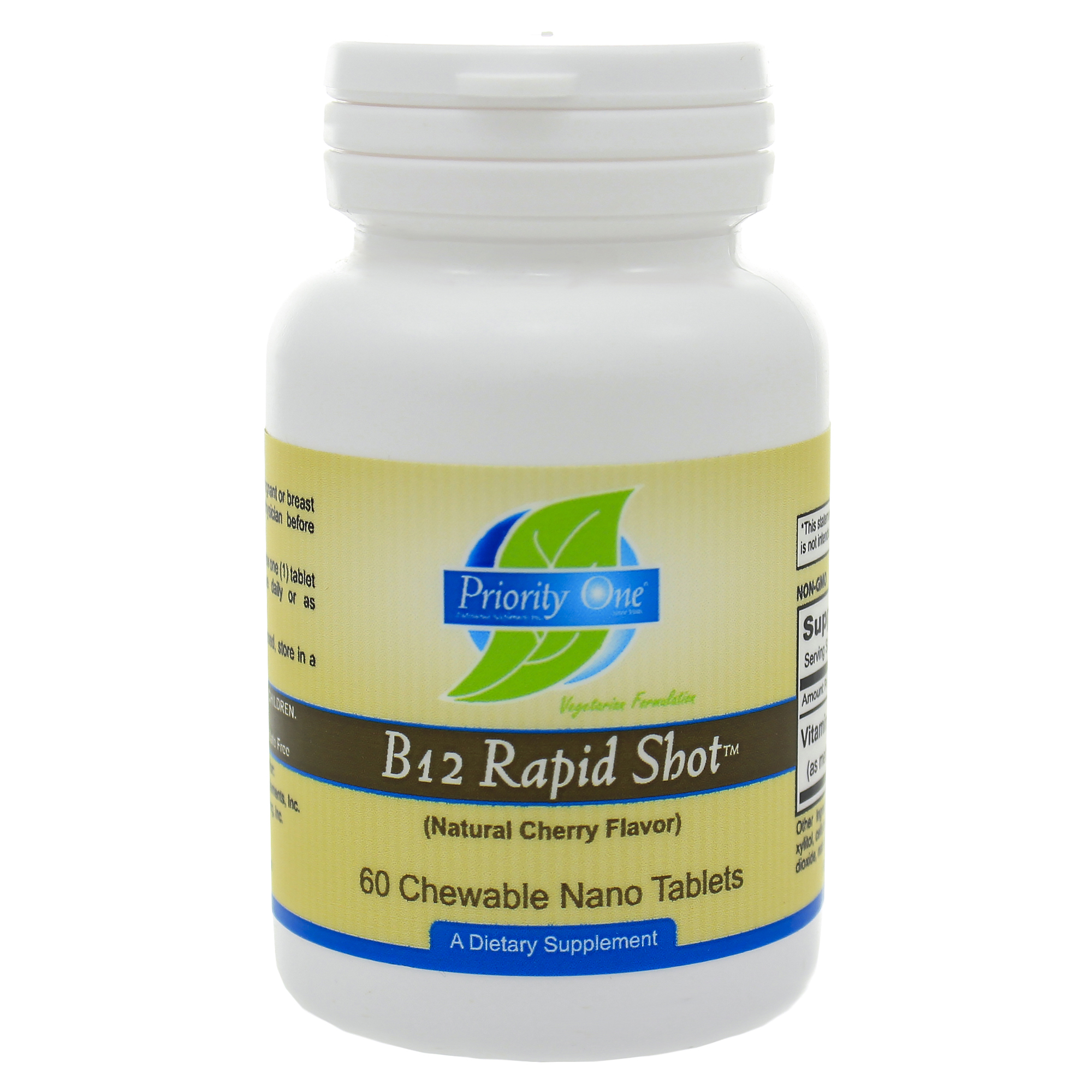 Priority One B-12 Rapid Shots (sublingual) 60t