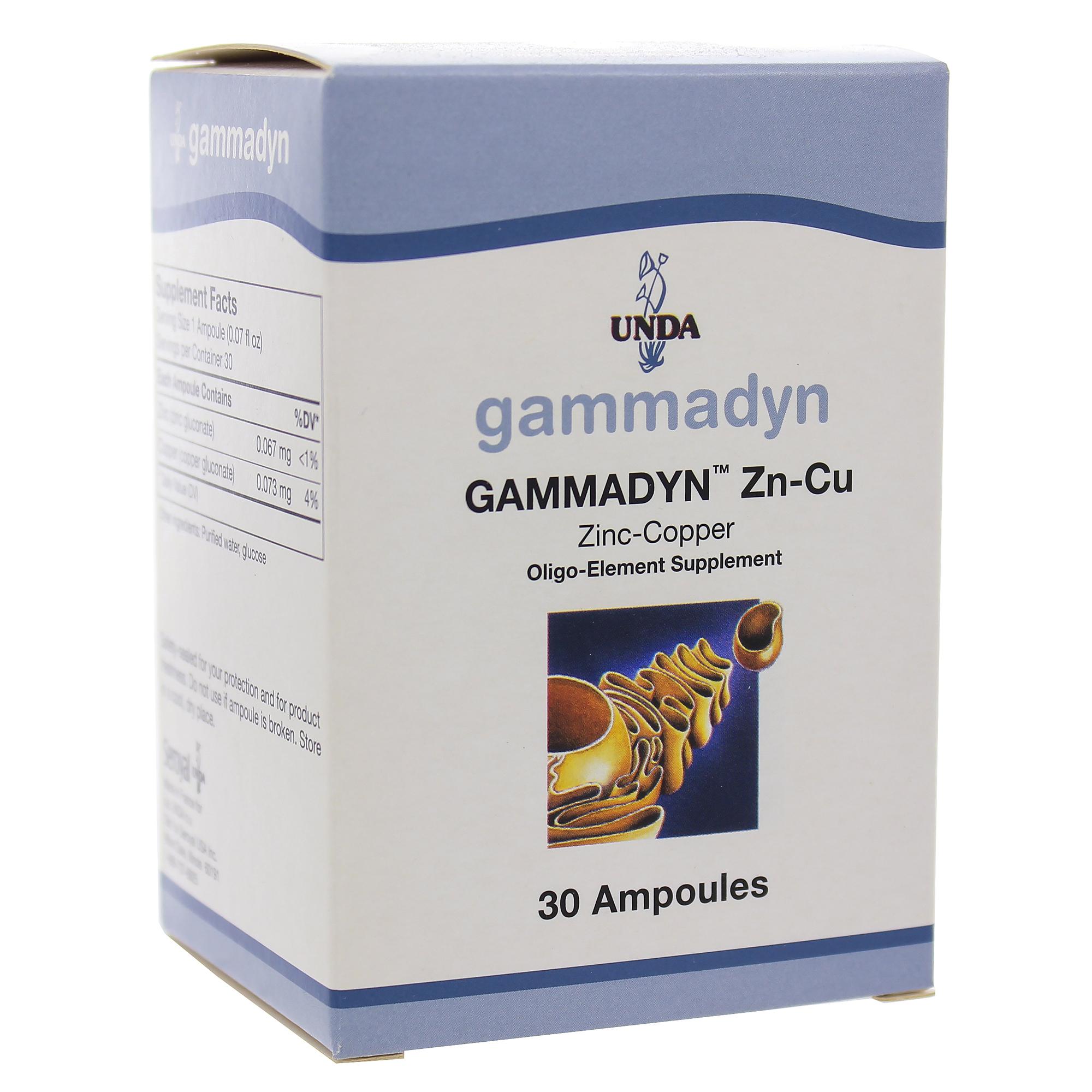 Gammadyn Zn-Cu 30 unidoses
