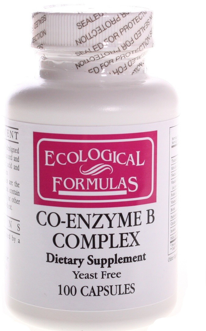 Ecological Laboratories Co-Enzyme B Complex 100 Capsules