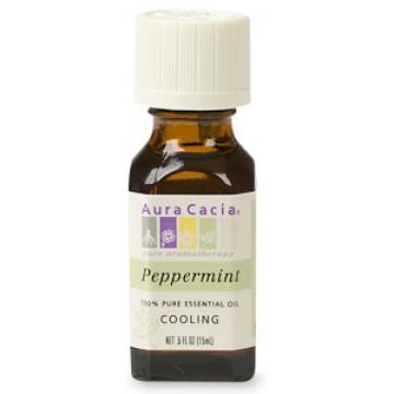 Aura Cacia, Essential Oil Peppermint .5 oz Oil