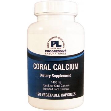 Progressive labs coral calcium 120 capsules the natural