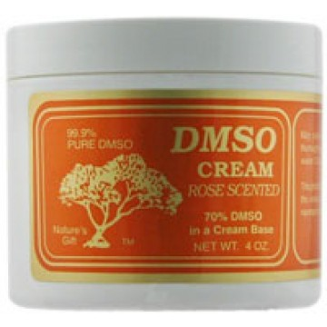 DMSO, DMSO Cream  - Rose Scented 4 oz Creme