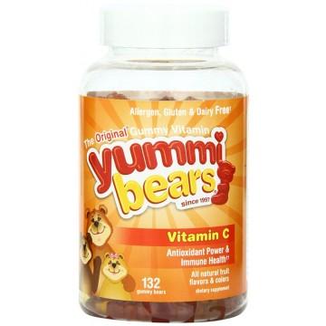 Hero, Yummi Bear Vitamin C 132 Gummies -The Natural