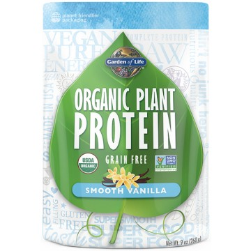 Garden Of Life Organic Plant Protein 10 Oz Powder Vanilla The Natural