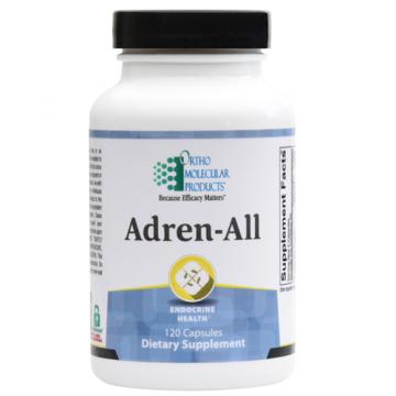 Ortho Molecular, Adren-All 120 Capsules