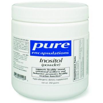 Pure Encapsulations, Inositol 250g Powder