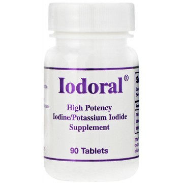 Optimox, Iodoral High Potency Iodine / Potassium Iodide 90 Tablets