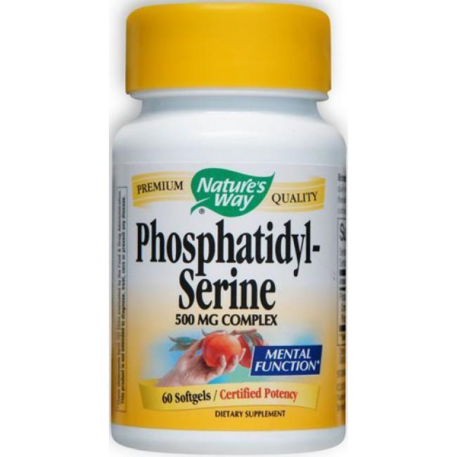 Nature S Way Phosphatidylserine  Mg  Softgels