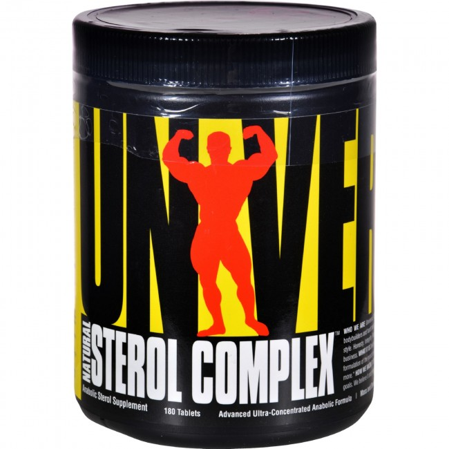 Universal Nutrition, Natural Sterol Complex - 180 Tablets -The Natural