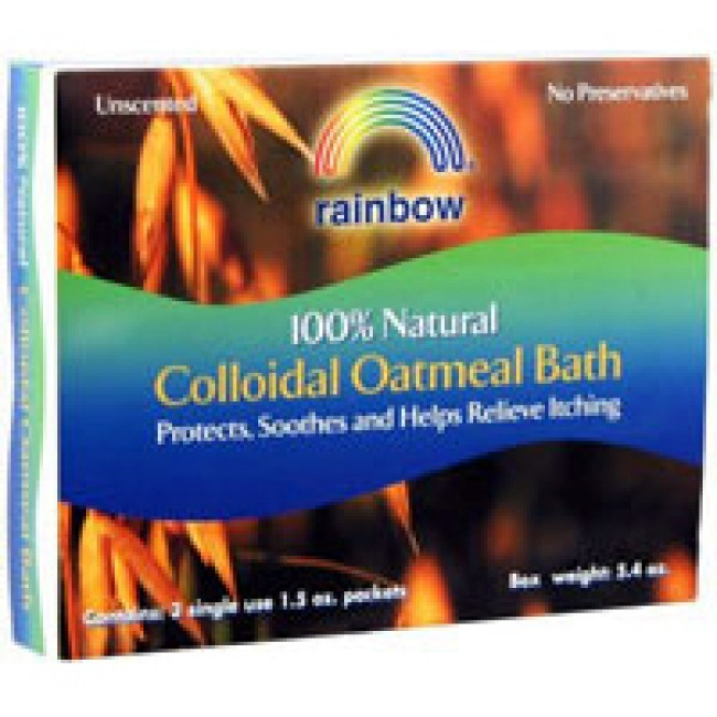 Rainbow Research, Colloidal Oatmeal Bath 3 - 1.5 oz Packet ...