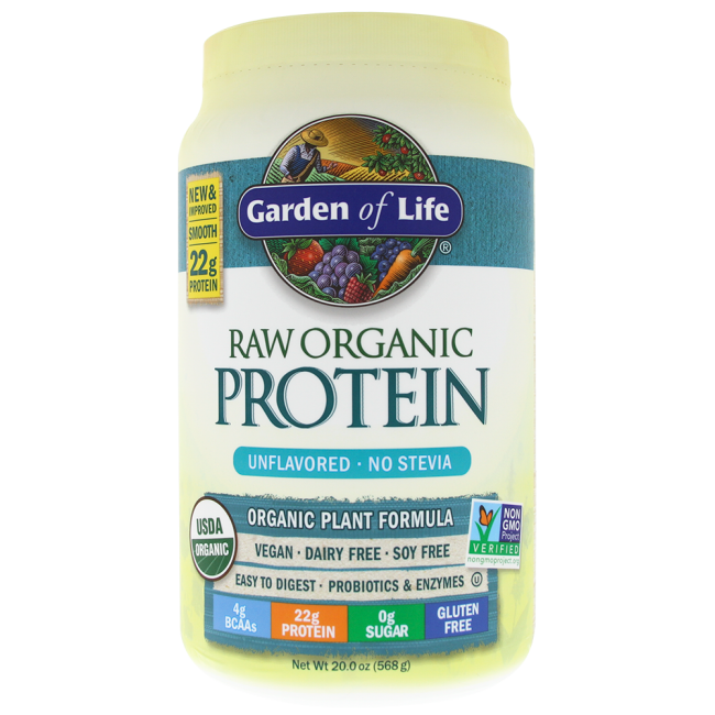Garden Of Life Raw Organic Protein 22 Oz Powder The Natural