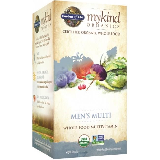 Garden Of Life Mykind Organics Men S Multivitamin Whole Foods