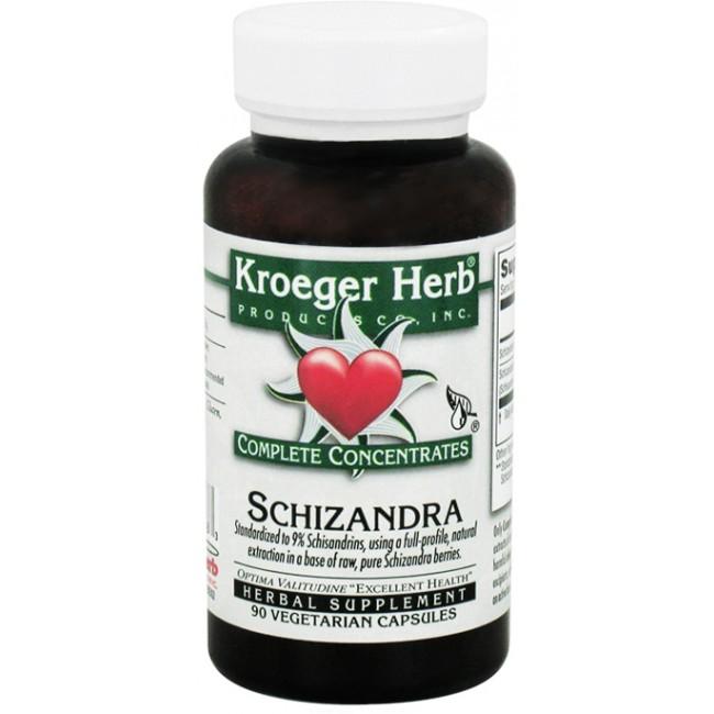 Kroeger Herb Schizandra Complete Concentrates 90 Veggie