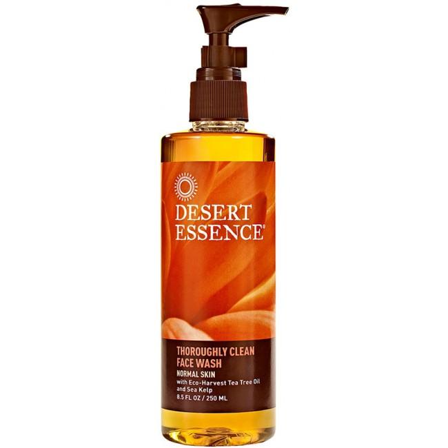 Desert Essence Thoroughly Clean Face Wash 8 5 Oz Liquid