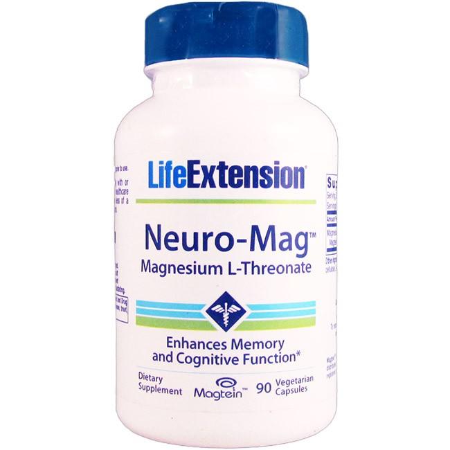 Life Extension Neuro Mag Magnesium L Threonate 90 Veggie